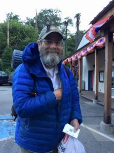 Missing hiker Steve Olshansky (Otter)